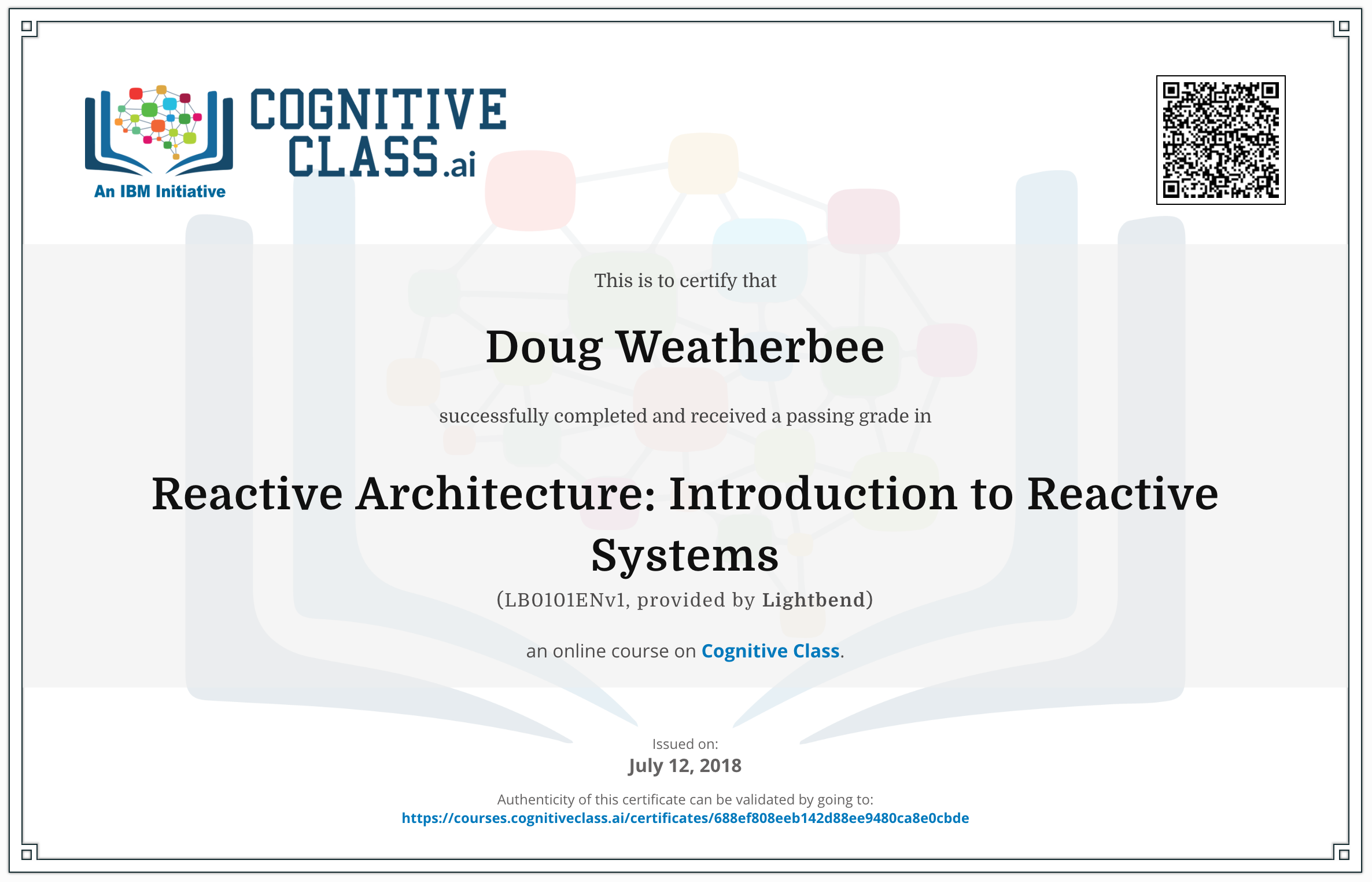 Learn Reactive Architecture For Free, At Your Own Pace | @lightbend