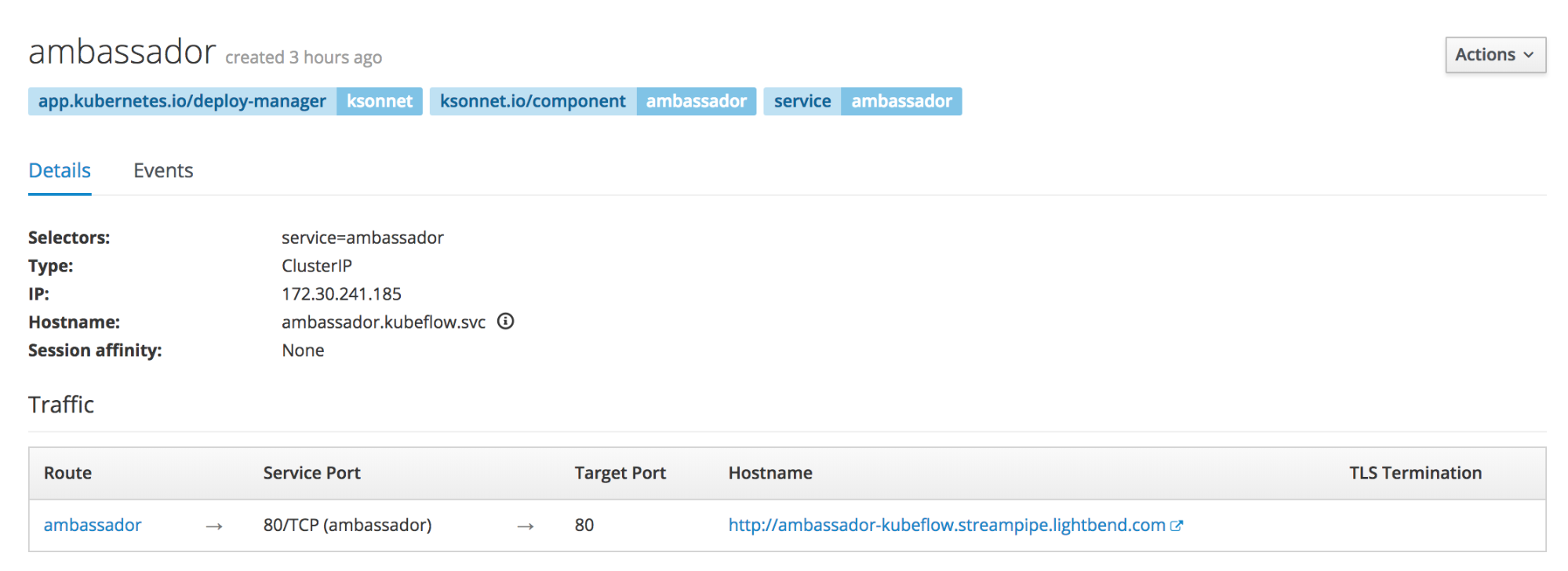How To Deploy Kubeflow On Lightbend Platform With OpenShift